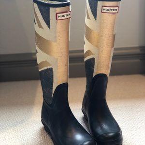 Hunter 'Original Union Jack Brit Flag' Rain Boots